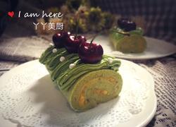 抹茶芒果蛋糕卷