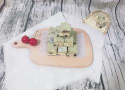 雪花酥-抹茶版