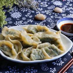 荠菜饺子的做法[图]
