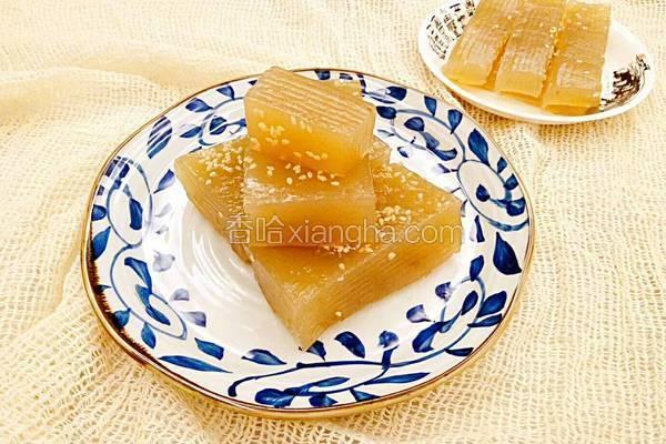 红糖姜汁千层糕