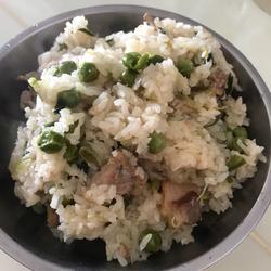 客家麦(豌)豆饭