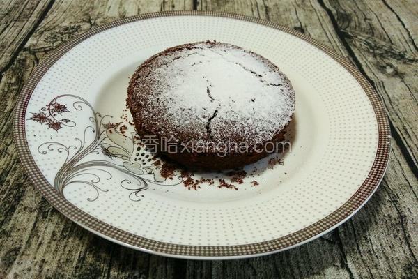 巧克力海绵小蛋糕