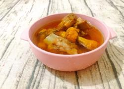 巴西菇排骨汤