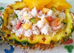 醇香菠萝饭