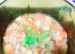 婴幼儿食谱:银鱼豆腐胡萝卜汤~