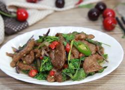 香菜小炒牛肉