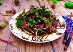 春季野菜~凉拌折耳根(叶)