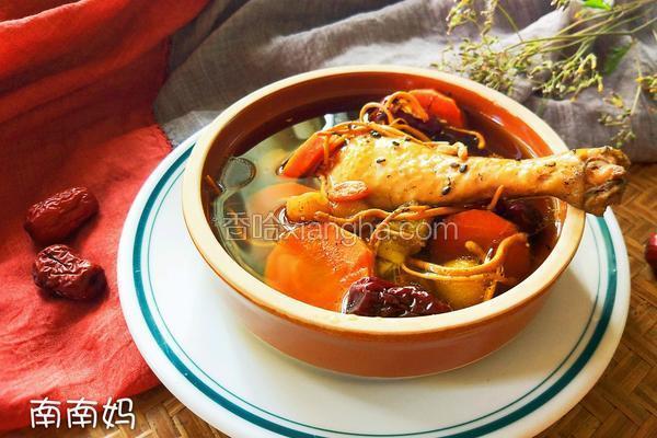 珍珠马蹄草鸡养生汤