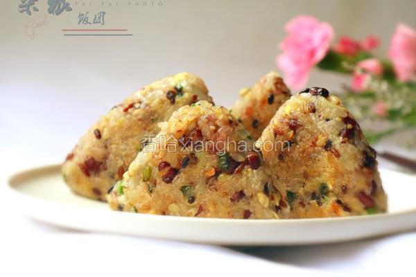 香煎土豆杂粮饭团