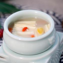 银杏薏米煲腐竹