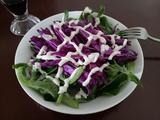 冰草紫甘蓝蔬菜沙拉的做法[图]