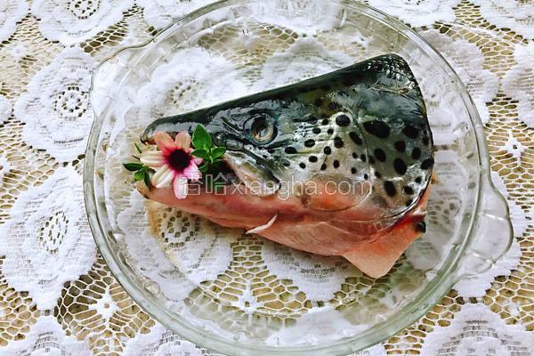焖三文鱼头