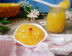 菠萝果酱(微波炉版)