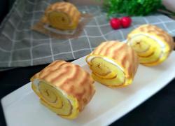 虎皮蛋糕卷(沙拉酱夹心)
