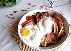 豆腐鸡蛋蒸鳗鱼干