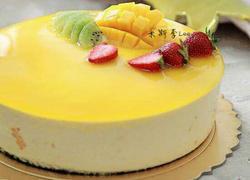 酸奶芒果慕斯蛋糕