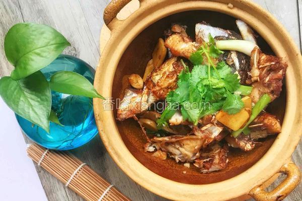 姜葱砂锅鱼头煲