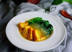 菠菜豆腐粉丝汤