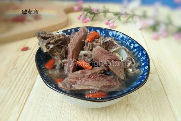 懒人羊肉汤