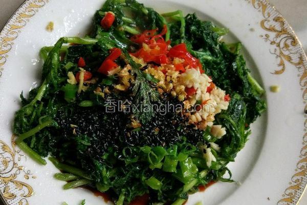 生拌茼蒿菜