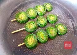 烤韭菜的做法图解12