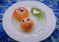 樱花蜂蜜小面包