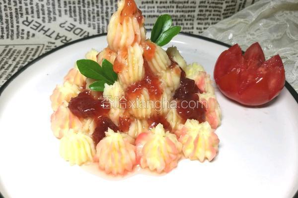 草莓酱土豆泥