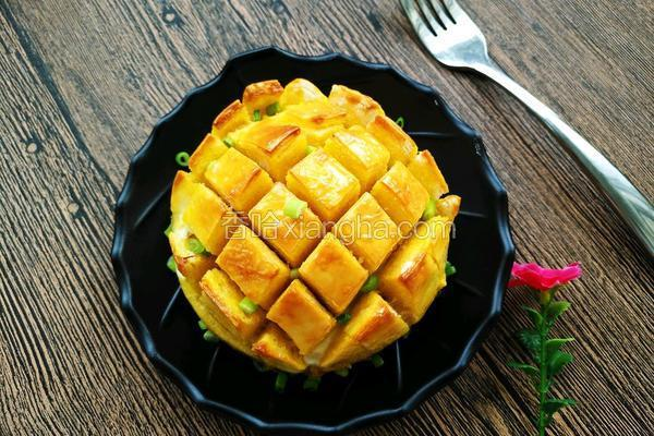菠萝馒头(创意美食)