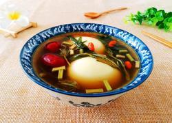 益母草煮红枣鸡蛋