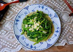 蒜蓉腐乳空心菜