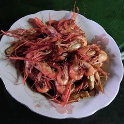 香辣红烧草虾的做法[图]