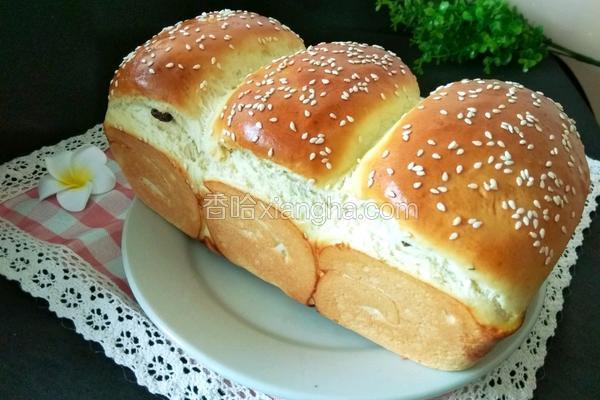 葡萄干面包(手揉版)