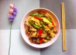 香菇炒腐竹