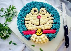 机器猫生日蛋糕