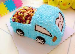 汽车生日蛋糕