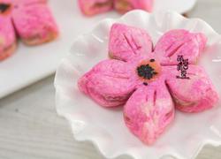 来一场粉红仙境~樱花酥