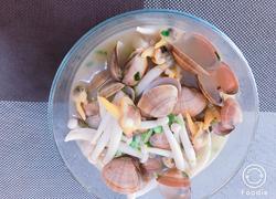 沙蛤海鲜汤
