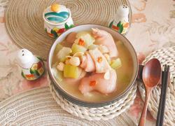 做菜技巧莲子百合竹荪猪脚冬瓜汤