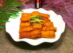 椒盐干煎豆腐