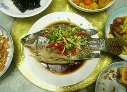 清蒸淡水鱼