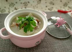 淡菜排骨山药汤