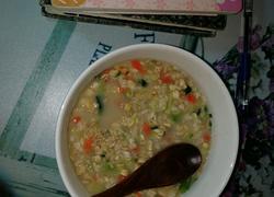 宿舍蔬菜燕麦粥