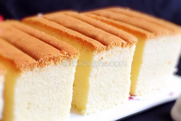 入口即化的棉花蛋糕