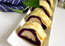 减肥期间这样吃紫薯鸡蛋香蕉卷