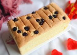 10寸蓝莓戚风蛋糕