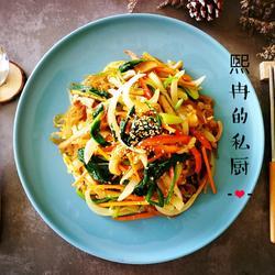 韩式炒杂菜的做法[图]