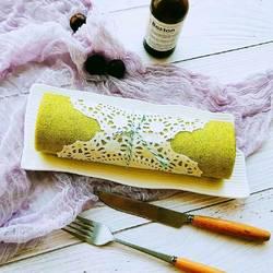 天然色素菠菜蛋糕卷的做法[图]
