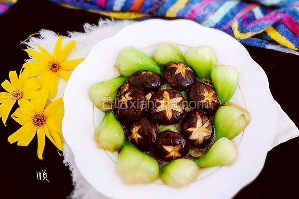 香菇扒棠菜