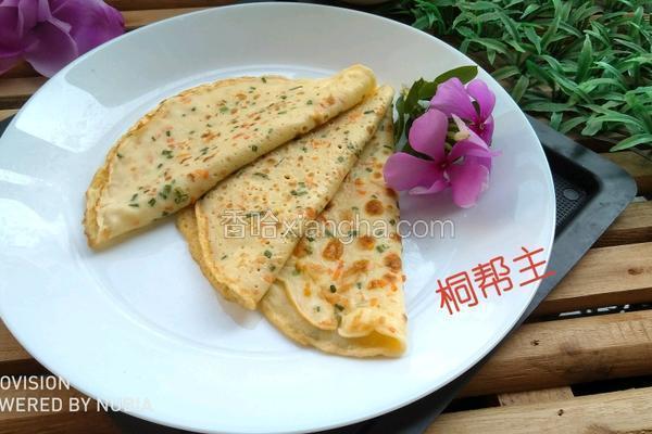 营养蔬菜鸡蛋饼