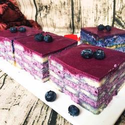 蓝莓慕斯蛋糕+6寸方模的做法[图]